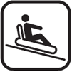 Adrenaling sledding area
