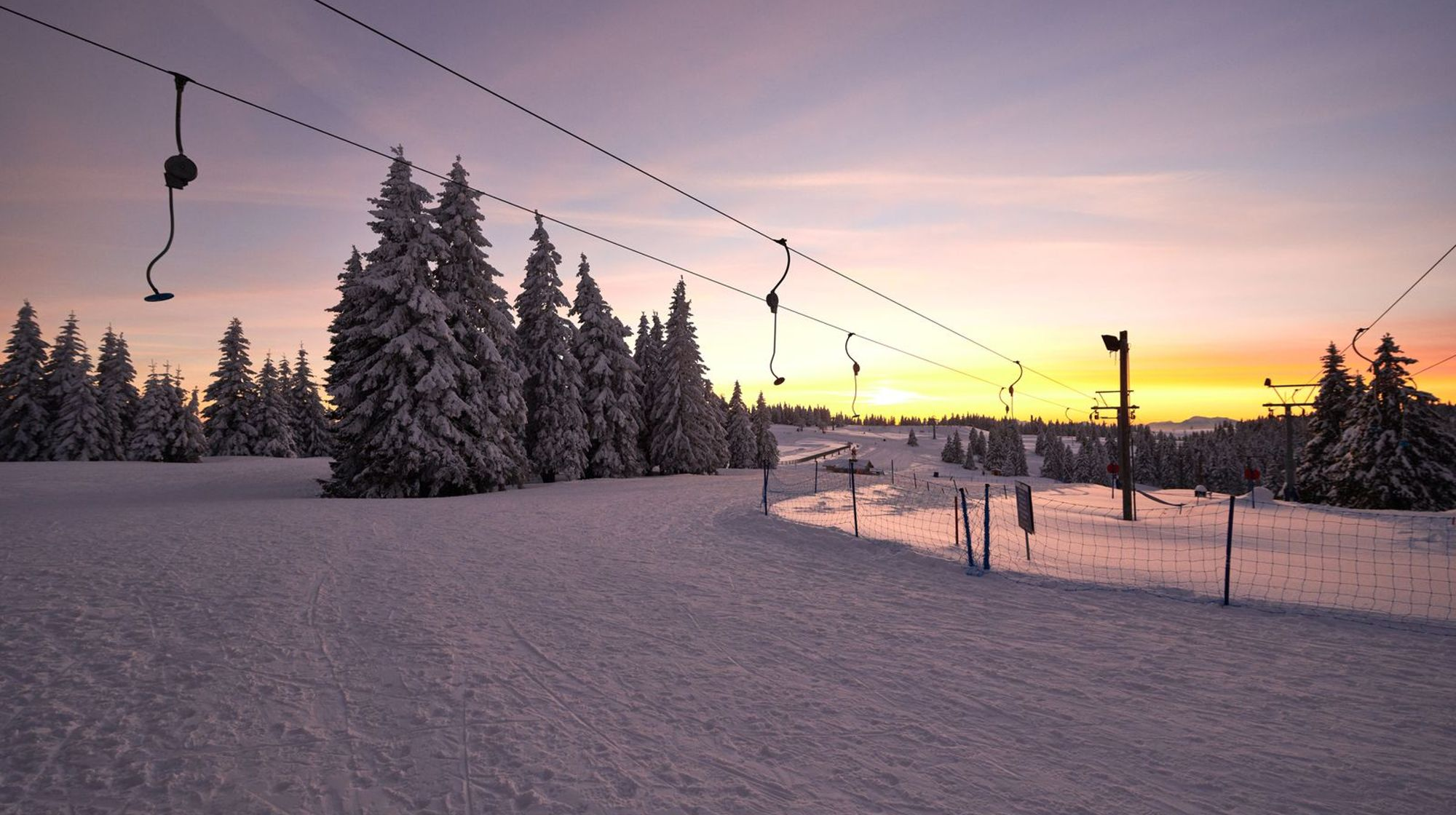 Skijalište je otvoreno.