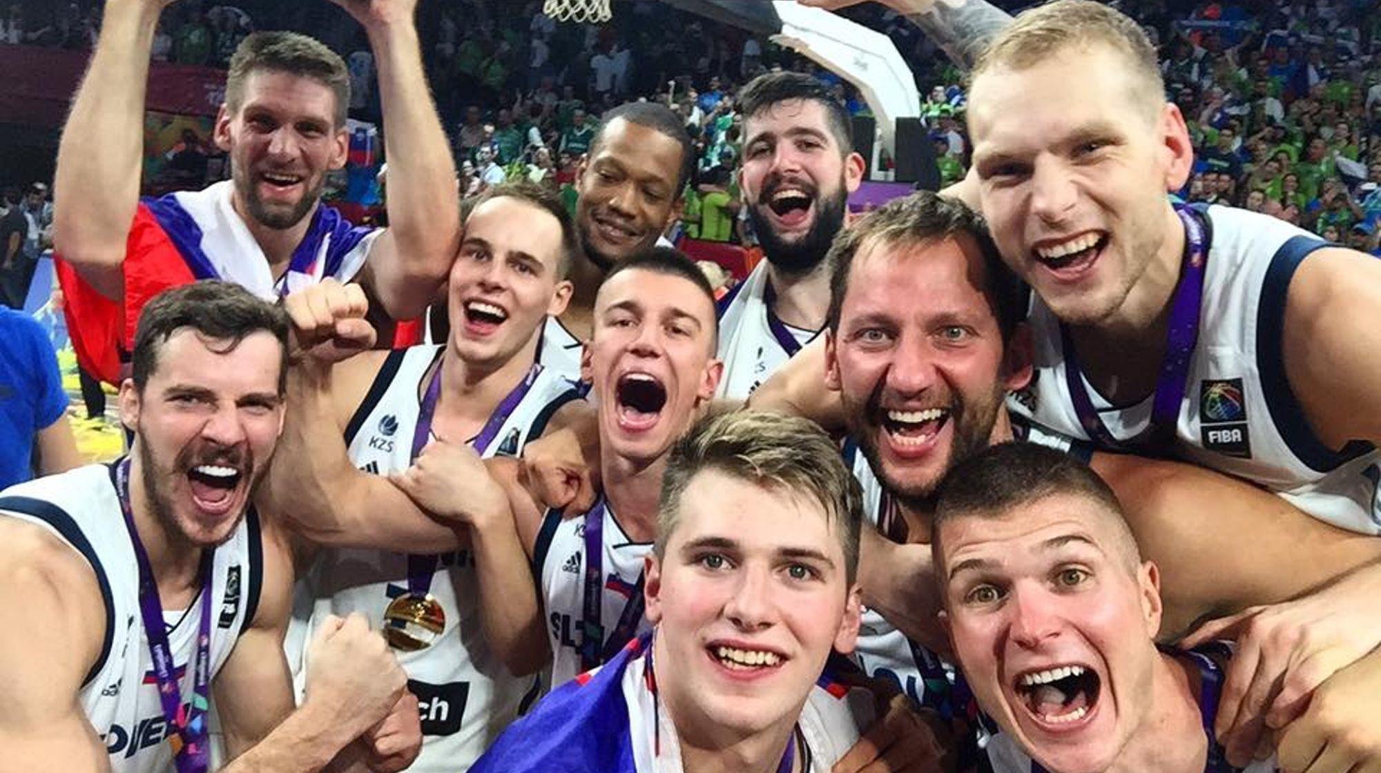 Evropski prvaki! Čestitke, #mojtim!