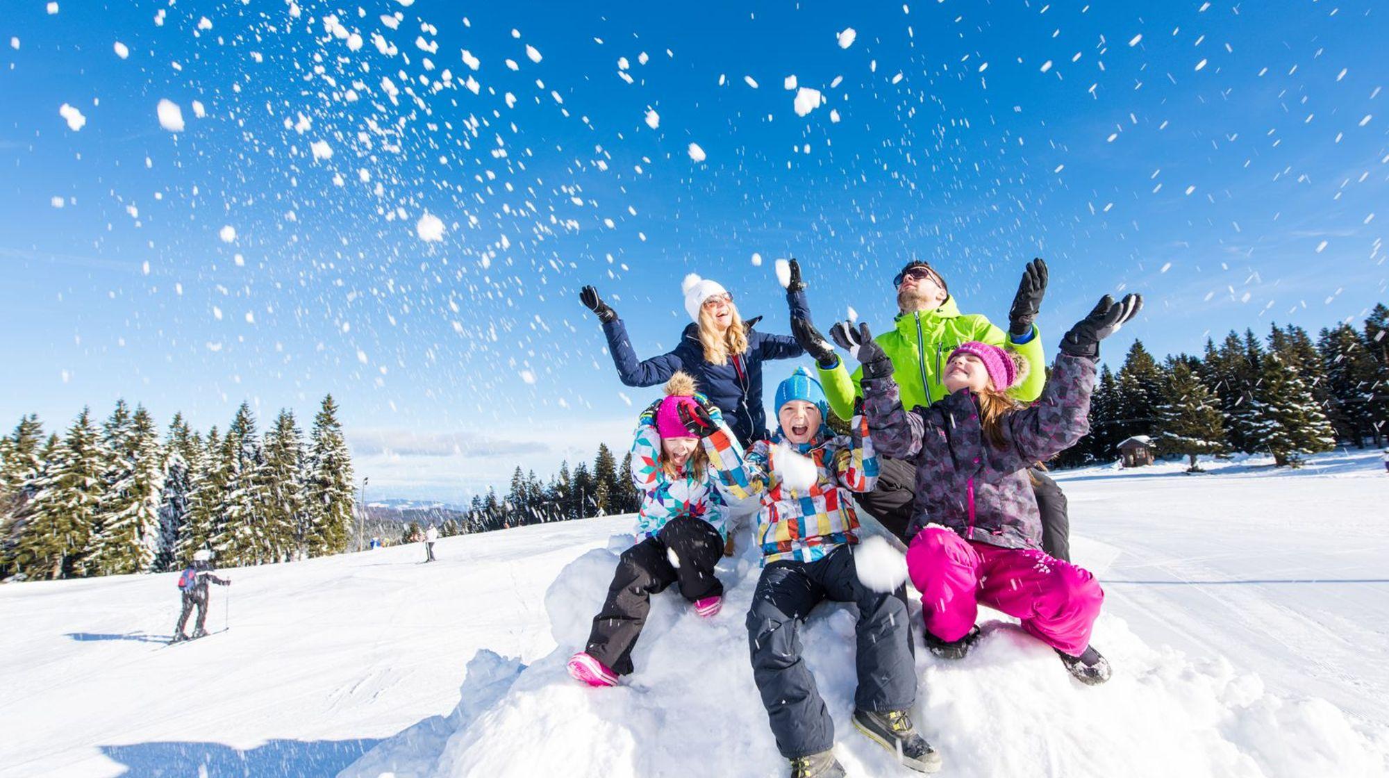 Sezonska ski karta PONEDELJEK - PETEK